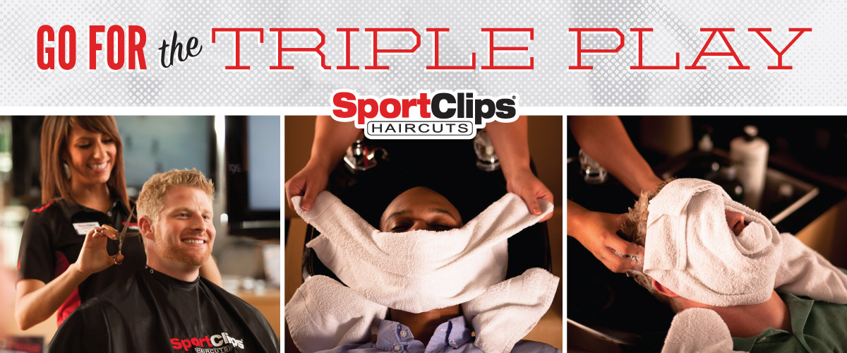 The Sport Clips Haircuts of Lakeville  Triple Play